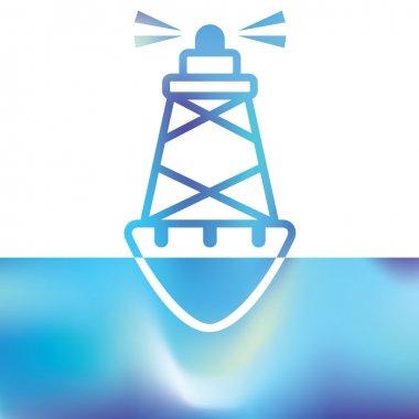 Sea buoys - marine buoy - maritime symbols