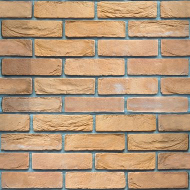 Decorative brick wall - seamless background - sandstone pattern