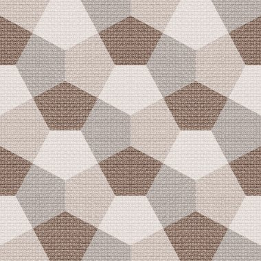 Abstract paneling pattern - seamless background - cloth paneling