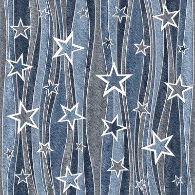 Abstract paneling pattern - seamless pattern - Christmas pattern