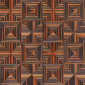 Fotografie Abstract triangle pattern - seamless background - Ebony wood tex