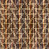 Fotografie Abstract triangle pattern - seamless background - Ebony wood