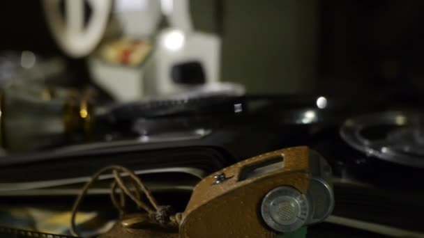 Vintage film equipment - Old photos and albums - memories of times gone by