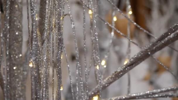 Slavnostní nasvětlení s vánoční ozdoby