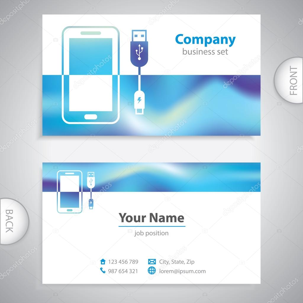 business card - mobile Accessories - consumer electronics ...