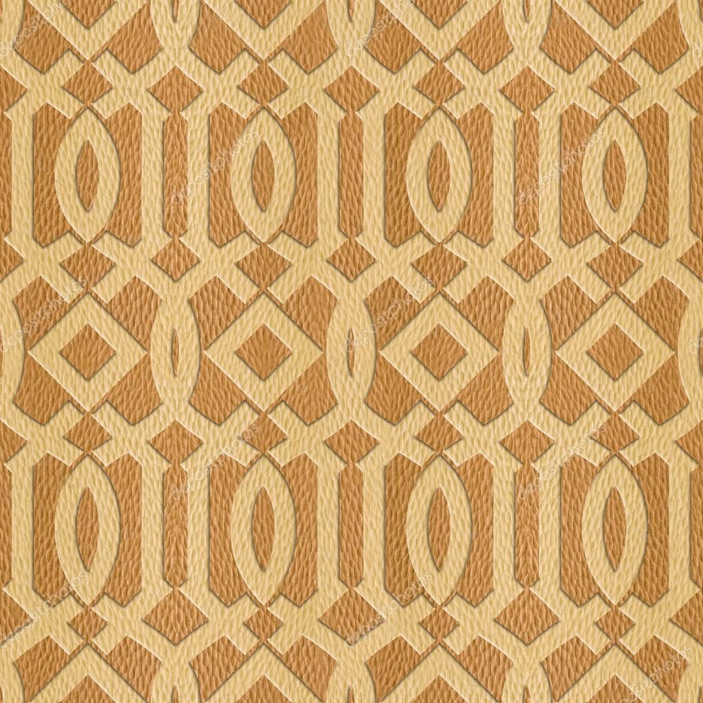 Decorative Arabic pattern - Interior Design wallpaper — Stock ...