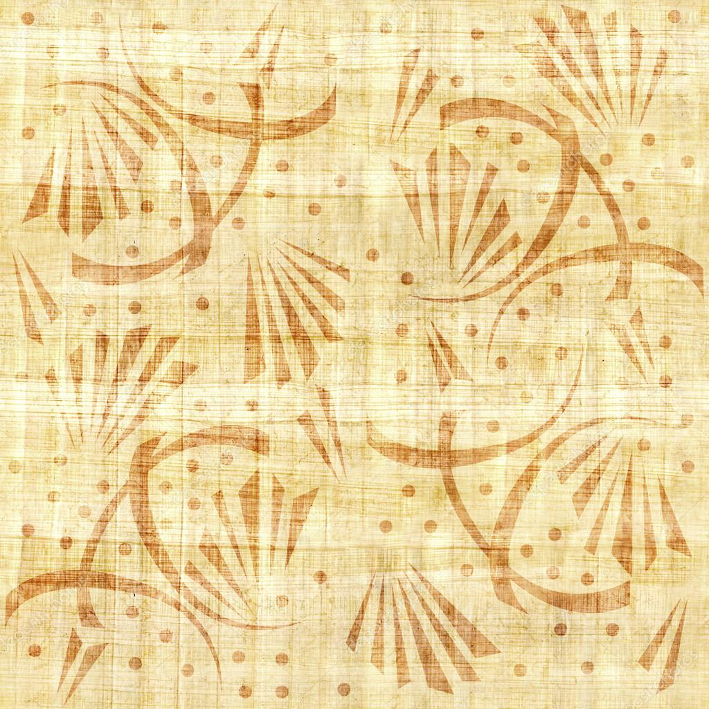 Abstract decorative wallpaper - papyrus texture - seamless ...
