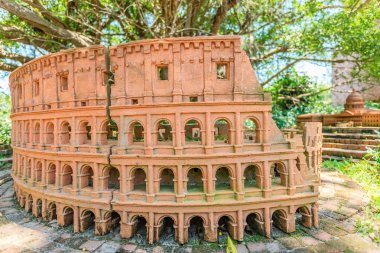 Famous places, buildings and architecture around the world by terracotta at Hoi An, Vietnam