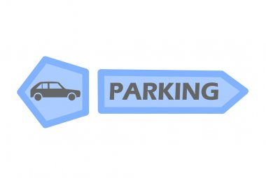 Car parking tag