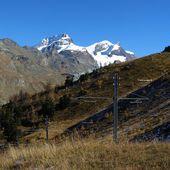 Montagne e poli di potenza del treno Gornergrat