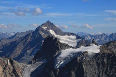 High mountain Sustenhorn and glacier