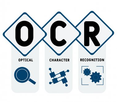 ✓ optical character recognition free vector eps, cdr, ai, svg vector  illustration graphic art