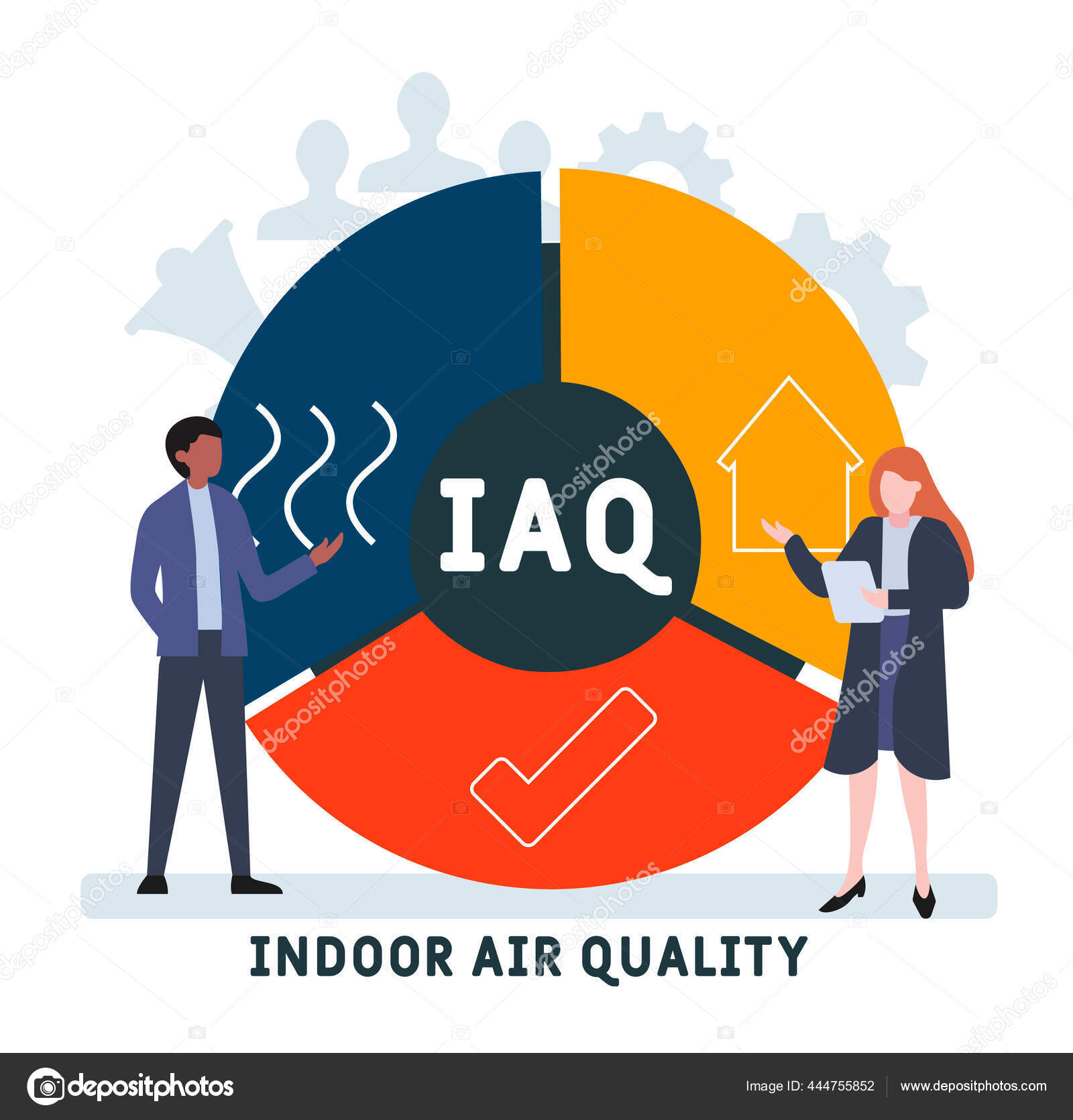Iaq Indoor Air Quality Acronym Business Concept Background Vector  Illustration ⬇ Vector Image By © Lnc@list.ru | Vector Stock 444755852