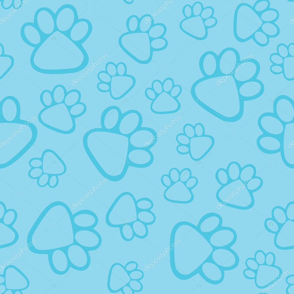 Letter S And Paw Print Mix