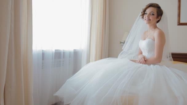 portrét krásné mladé nevěsty