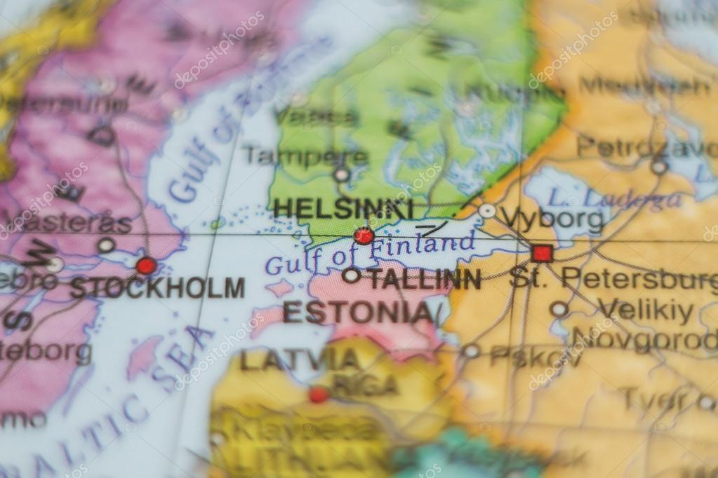 Estonia country map foto de stock suprunvit 101909306 beautiful photo of a map of estonia and the capital tallinn foto de suprunvit gumiabroncs Choice Image