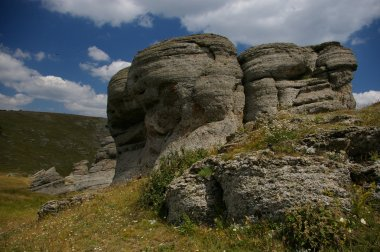 Valley of Ghosts in Crimea,