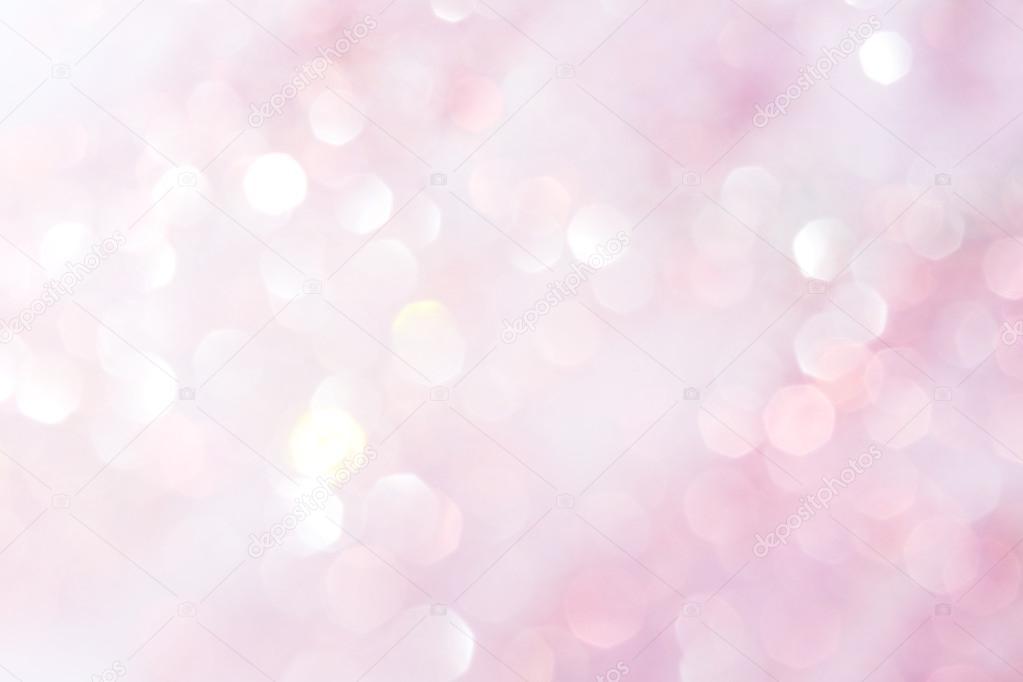 Puple Y Luces Blancas Suaves Resumen De Fondo