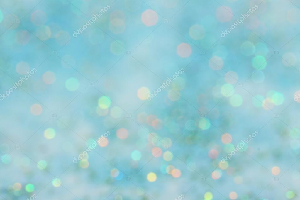 Plano De Fundo Azul Laranja Turquesa Verde Abstrato Bokeh