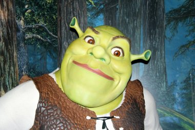 Shrek at Madame Tussauds