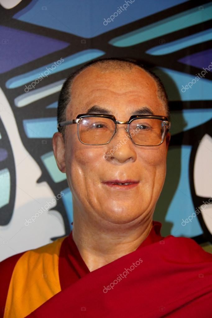 997a949acc1 Madame Tussauds in London. Waxwork statue of Dalai Lama. Created by Madam  Tussauds in 1884
