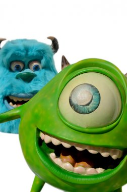 Disney Mike and Sulley from Monsters inc. incorporated.