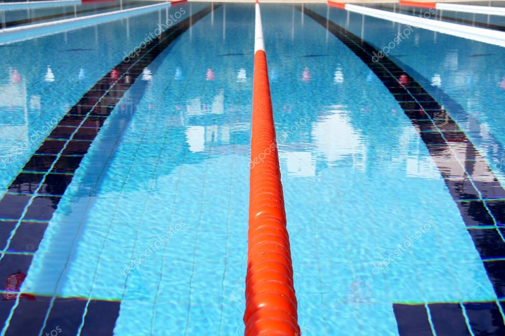 Swimming pool lane Ropes — Stock Photo © Murdocksimages ...