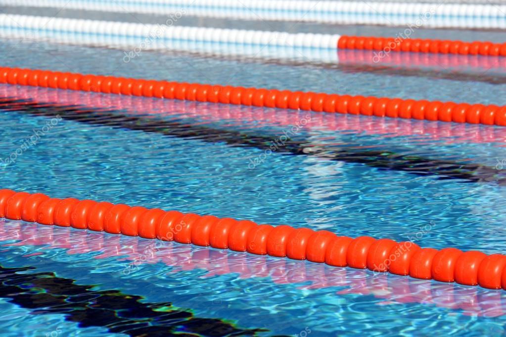 Swimming Pool Lane Ropes Stock Photo 169 Murdocksimages