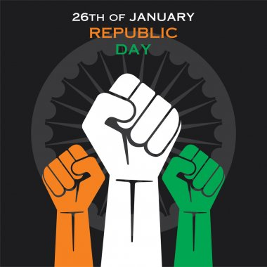 Happy republic day greeting