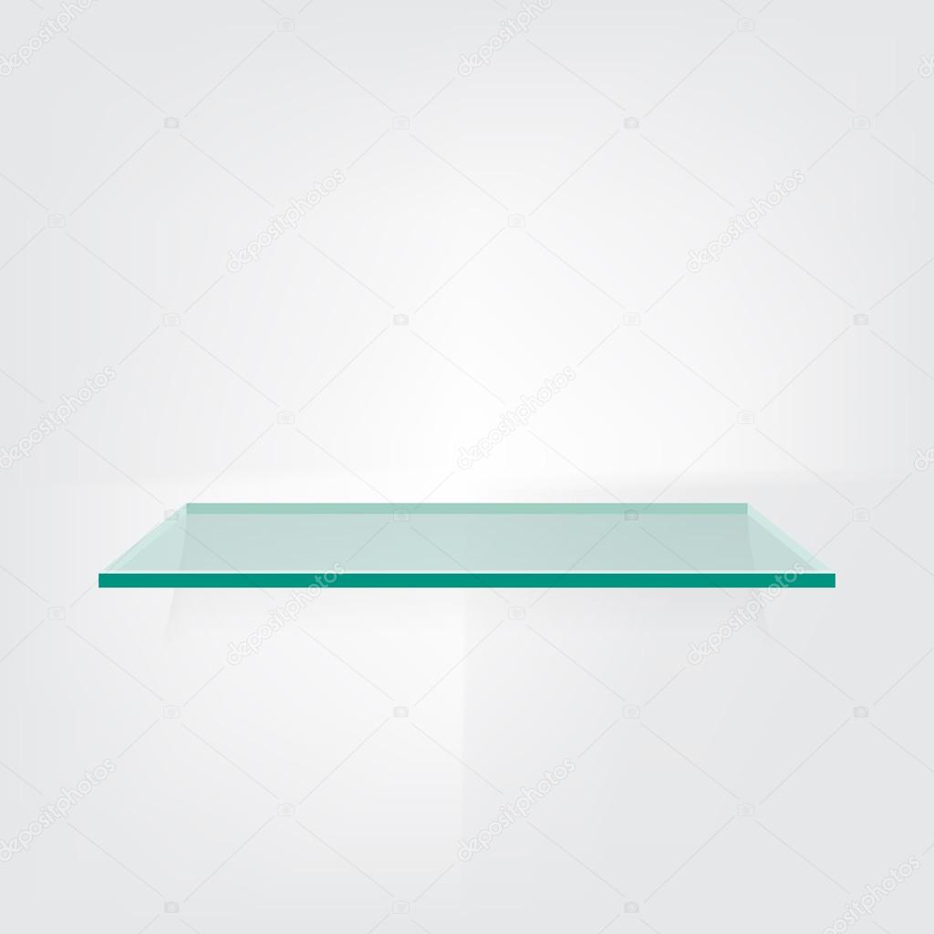 Astounding Regal Glas Dekoration Von Auf Weißem Hintergrund — Stockvektor