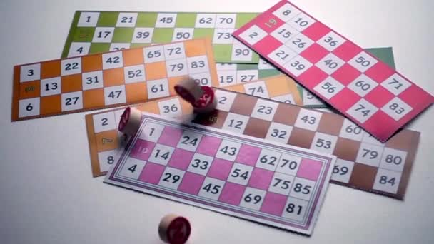 Bingo Lotto Tombala hazardní hra zábava