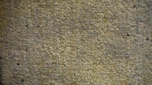Vodní toky na texturu pozadí cihel kamenné zdi