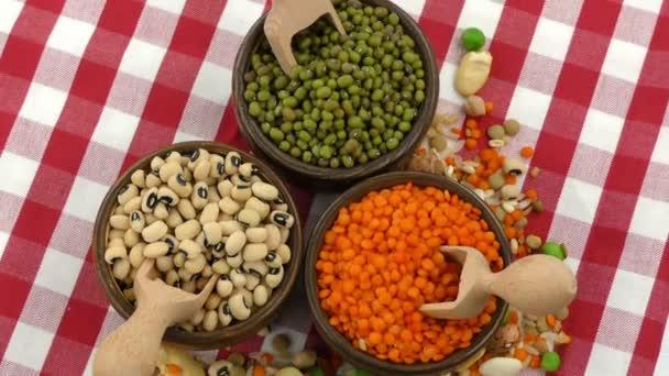 Köstliche Mischung aus Hülsenfrüchten