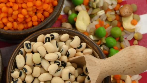 Delicious Mixed of Legumes Food