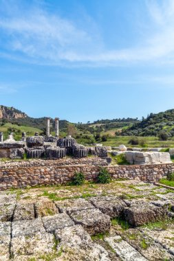 Greek Temple of Artemis near Ephesus and Sardis