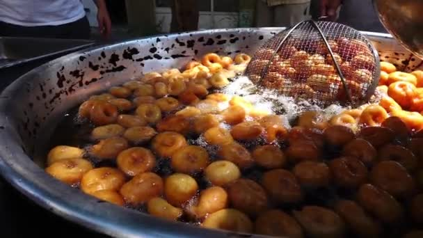 Turkish Traditional Dessert Donut Lokma
