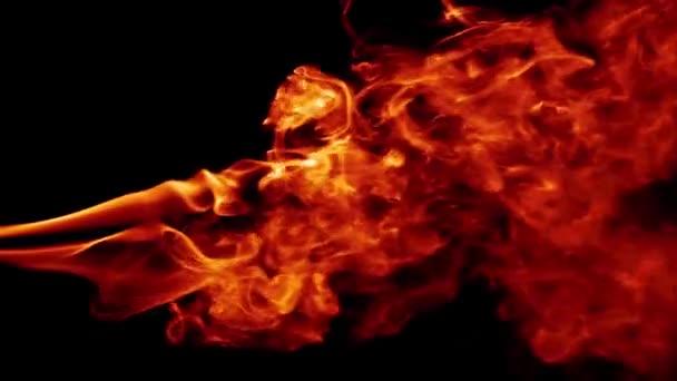 Abstraktní ohně kouř Turbulence