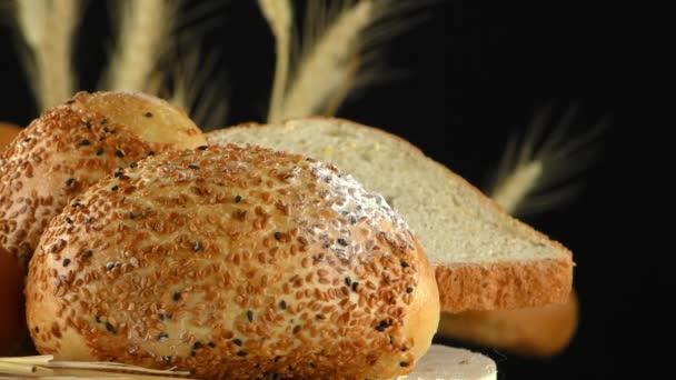 Chleba mouky pšenice vejce potravin Concept