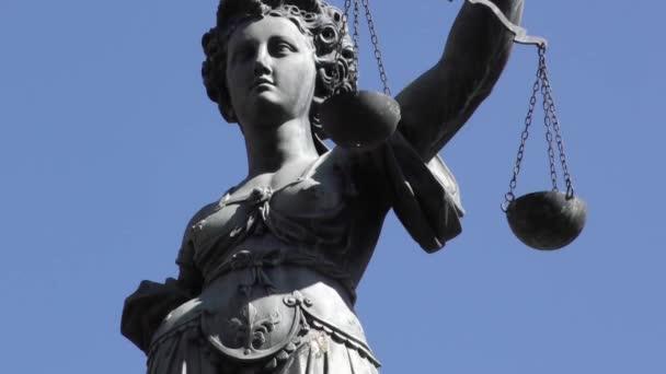 Justice Statue in Frankfurt Germany