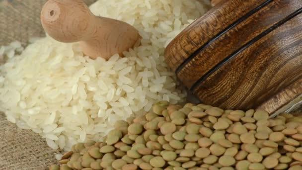 Hülsenfrüchte gesunde und natürliche Mischkost
