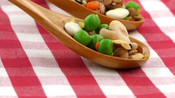 Hülsenfrüchte köstliche gesunde und natürliche Mischkost