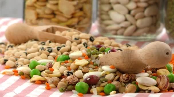 Hüvelyesek bárként egészséges és természetes élelmiszer