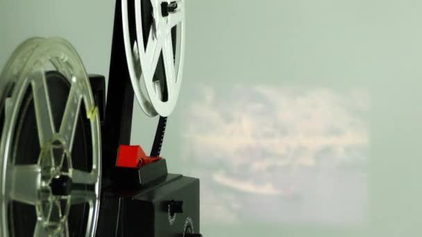 Film Vintage retrò di rotolamento