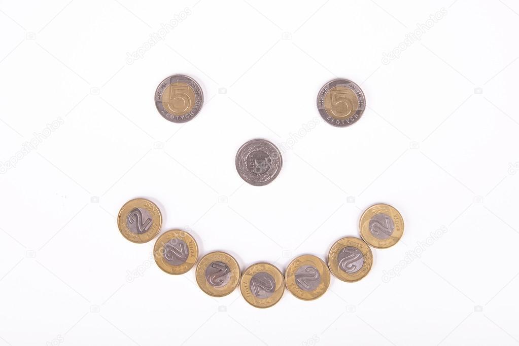 Polnische Zloty Münzen Geld In Polen 1 Pln 2 Pln 5 Pln