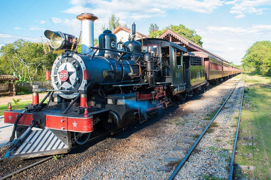 Trem — Fotografia de Stock