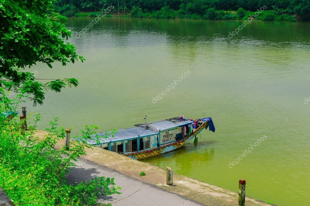 Boat station at Perfume River