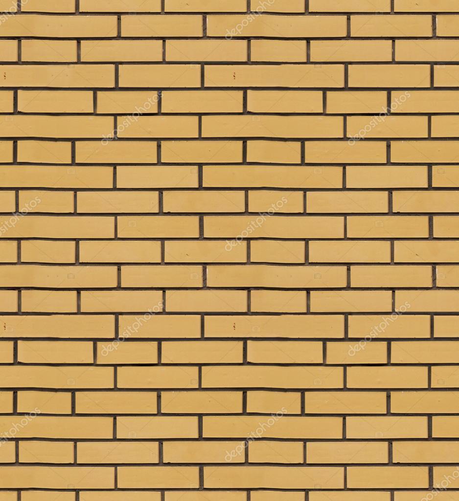 La Textura Del Revestimiento De Ladrillo Amarillo Foto De Stock - Revestimiento-de-ladrillo