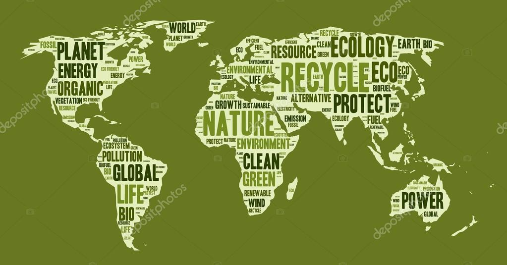 World map made of eco words vector de stock pyty 74355653 word cloud in a shape of world map eco theme vector illustration vector de pyty gumiabroncs Image collections