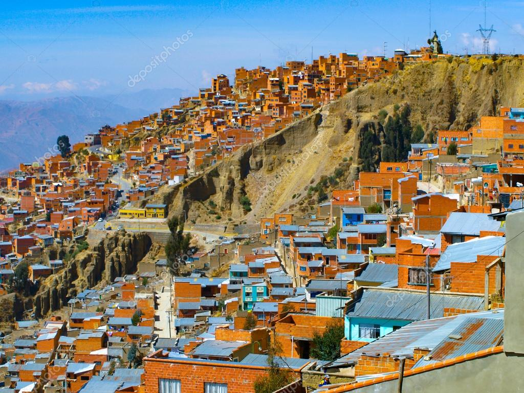How To Find House Plans Houses Of La Paz In Bolivia Stock Photo 169 Pyty 85028790
