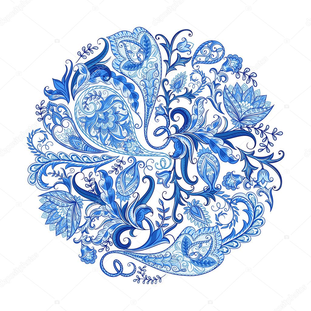 Paisley Decorative Pattern